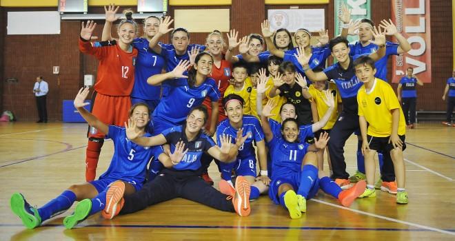 U17 futsal, Italia-Romania 5-3, azzurrine a punteggio pieno