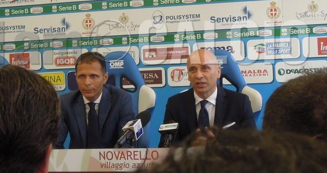 """Novara. Corini soddisfatto: """"Sensazioni positive"""""""