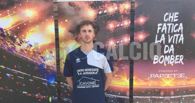 Coppo, in gol per La Bossola/Scavone
