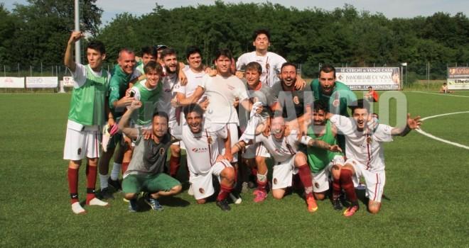 Playoff Seconda, fa festa il Romagnano!