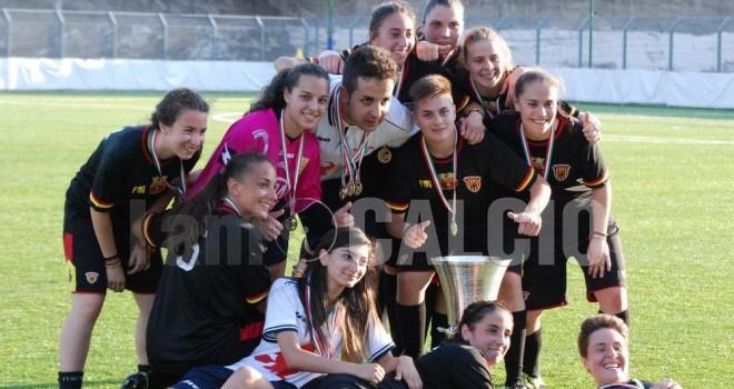Le Streghe-V. Partenope 2-0: Ruggiero tinge la Coppa di giallorosso