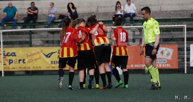 Le Streghe-Sant'Egidio 4-3: super-Asta e le giallorosse sono seconde