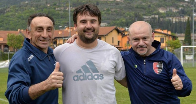 Toscolano Maderno, Chimini lascia la guida tecnica, gli succede Pasini