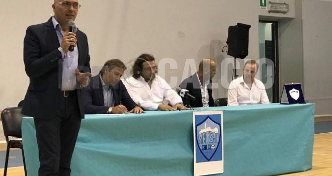 LIVE - Diretta testuale 1^ conferenza stampa Matera Calcio 2017-2018