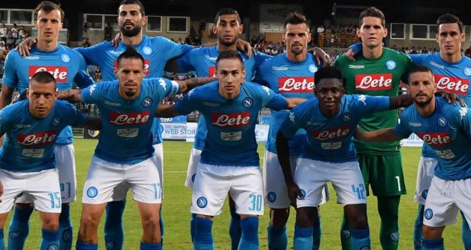 Napoli-Trento, ph SSC Napoli