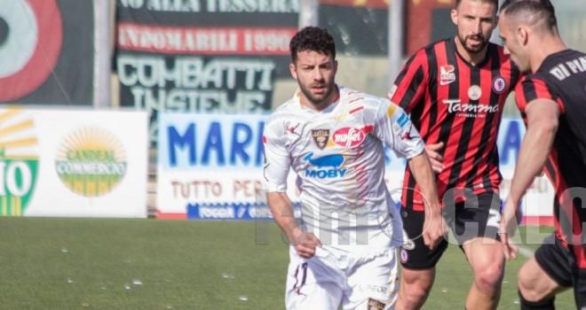 Mario Pacilli con la maglia del Lecce