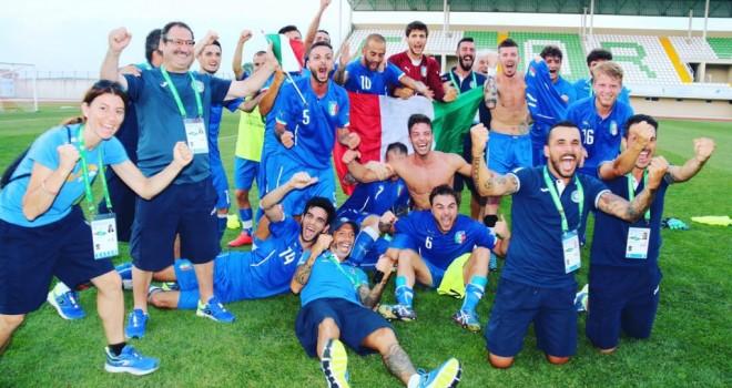 Deaflympics. L'Italia ai quarti: Benevento gioisce per Giorgio Zollo