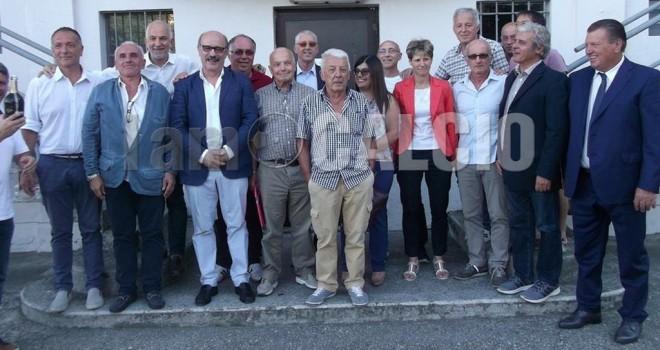 Foto di gruppo per il nuovo Verbania
