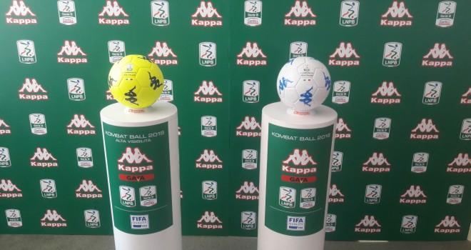 Presentato il nuovo pallone della Serie B 2017/18 firmato Kappa