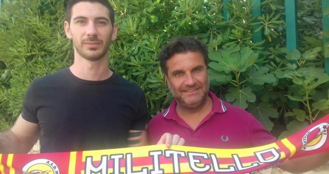 Asd Militello: Gulizia è giallorosso