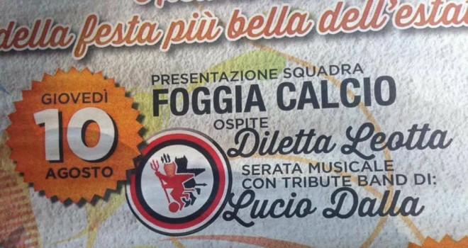 Diletta Leotta ospite alla presentazione del Foggia?