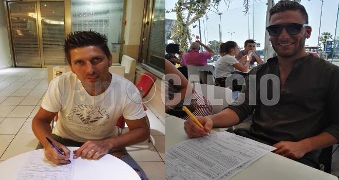 Picciola, firma per due calciatori: ingaggiati Amabile e Carfagno