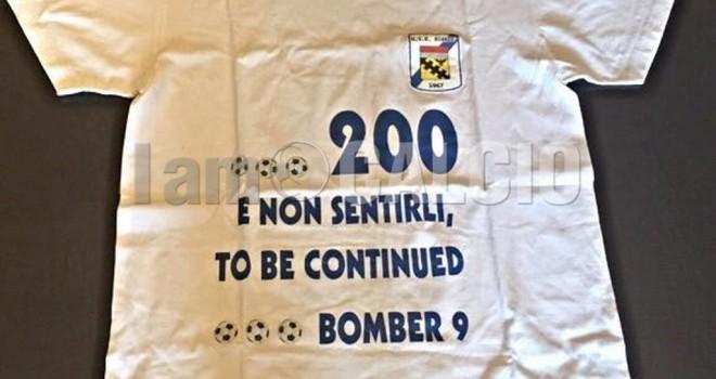 La maglia delle 200 reti di Panipucci