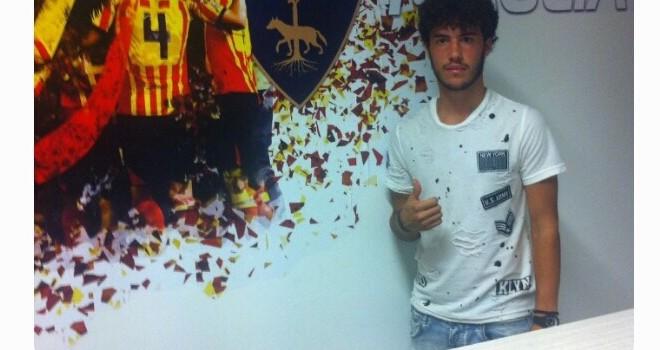 Il giovane attaccante Nino Morra