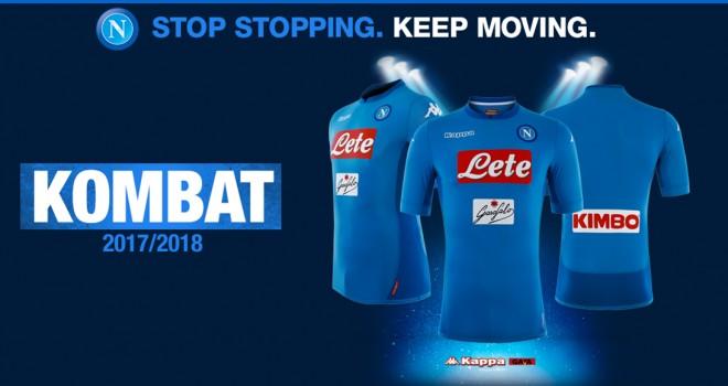 Napoli, presentata Kombat 2018: la nuova maglia azzurra