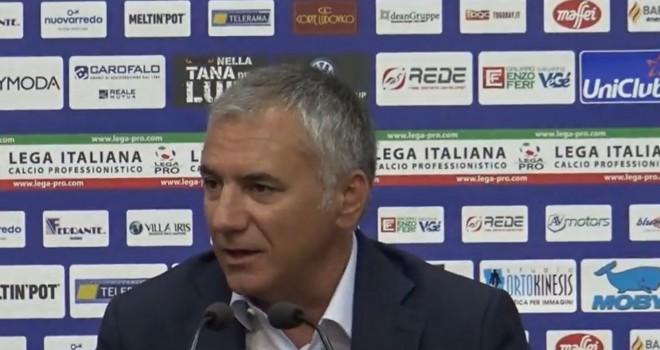 """Lecce. Meluso: """"Meritiamo rispetto, penalizzati dall'arbitraggio"""""""