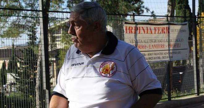 """Mister Solinas: """"Qui all'Irpinia Sport c'è tanta fame di risultati"""""""