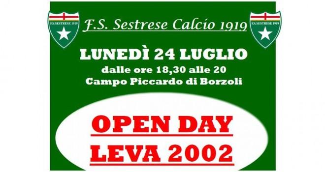 Sestrese, è tempo di Open Day: lunedì 24 tocca alla Leva 2002