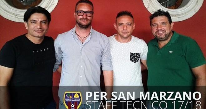 S.Marzano, confermato mister Liguori. Ufficializzato lo staff tecnico
