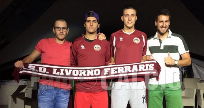 I nuovi volti del Livorno Ferraris