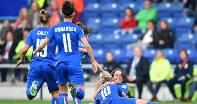 L'Italia saluta gli Europei Femminili battendo 3-2 la Svezia