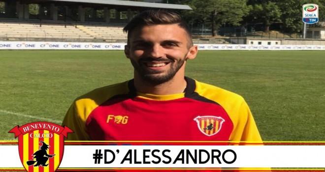 Marco D'Alessandro, Benevento