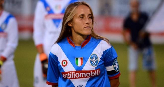 Valentina Cernoia lascia ufficialmente il Brescia