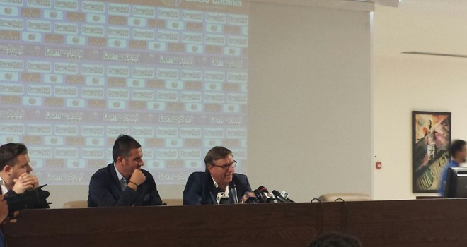 """Catania. Cristiano Lucarelli:""""Voglio riportare il Catania in B"""""""