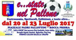 """Rocca Priora calcio. Va in scena """"E…state nel pallone"""""""