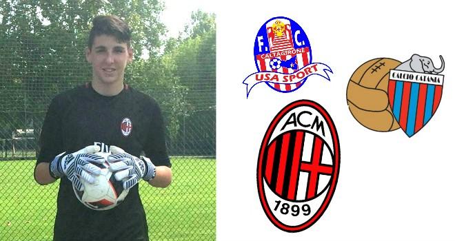 Cultraro dall'Usa Sport Caltagirone al Milan,un sogno diventato realtà