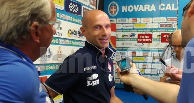 """Franzini si gode il suo Piacenza: """"Ma è solo calcio d'agosto"""""""