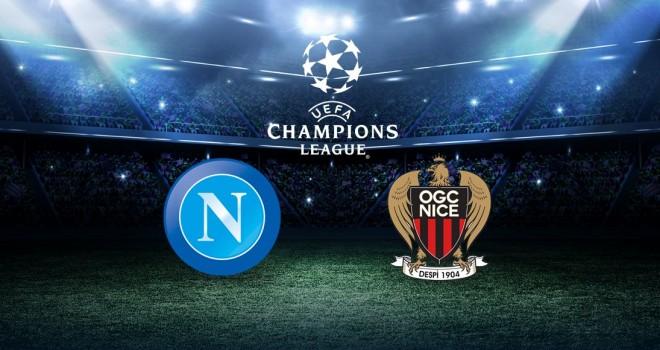 Napoli, sarà sfida col Nizza nel preliminare di Champions: i dettagli