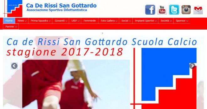 Il nuovo Ca de Rissi San Gottardo si rifà il look. Anche online