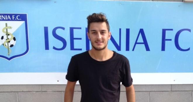 Giordano nuovo calciatore dell'Isernia