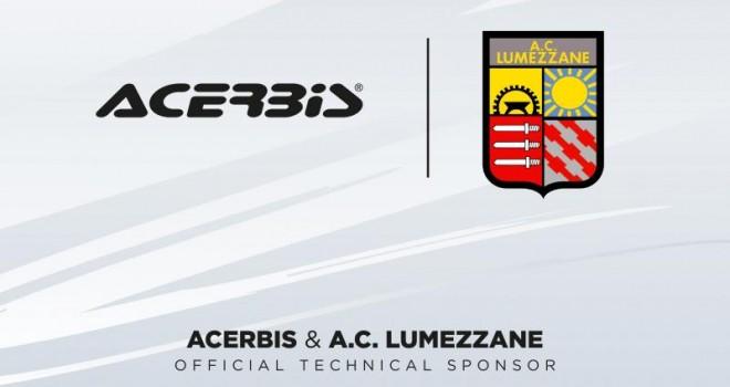 Acerbis nuovo sponsor tecnico del Lumezzane