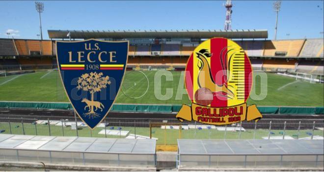LIVE - Diretta testuale Lecce-Gallipoli: 5-1. Partita terminata