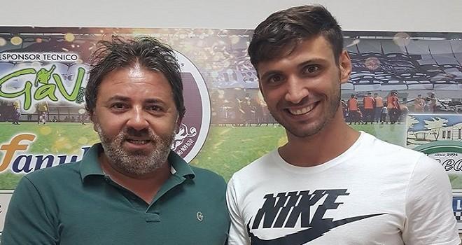 L'ex Gelbison Schiavino firma per il Nardò