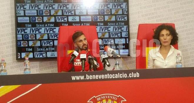 """Benevento. D'Alessandro: """"Abbiamo giocato male, c'è da lavorare"""""""
