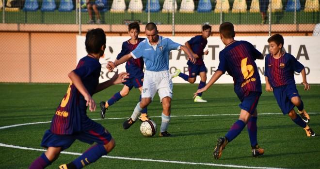 Seconda giornata di gare: Juve, Barcellona e Roma a punteggio pieno