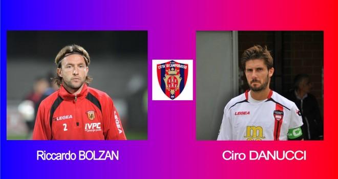 Campobasso: Pavarese si presenta con Bolzan e Danucci