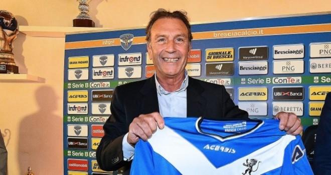 """Brescia, si presenta Cellino: """"Qui per tornare a fare calcio"""""""