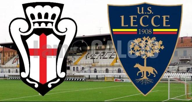 Pro Vercelli-Lecce 1-2: doppio Di Piazza, giallorossi al terzo turno