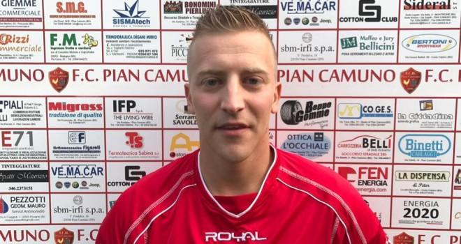 Pian Camuno, preso il centrocampista Alex Carrara