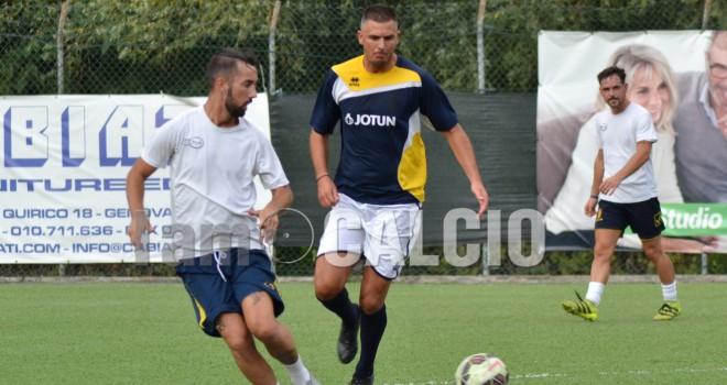Serra Riccò - Borzoli, la fotogallery della partita