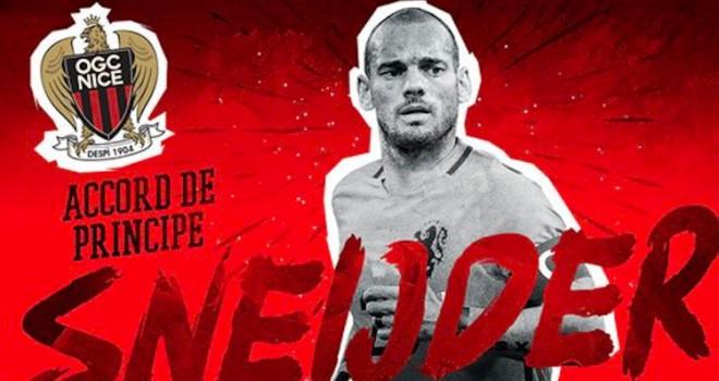 Napoli, un avversario in più: il Nizza annuncia Sneijder, oggi le...