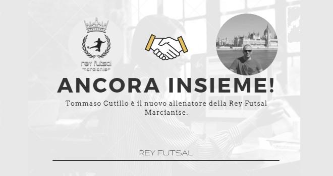 Rey Futsal Marcianise. Panchina affidata ad un leader giallonero