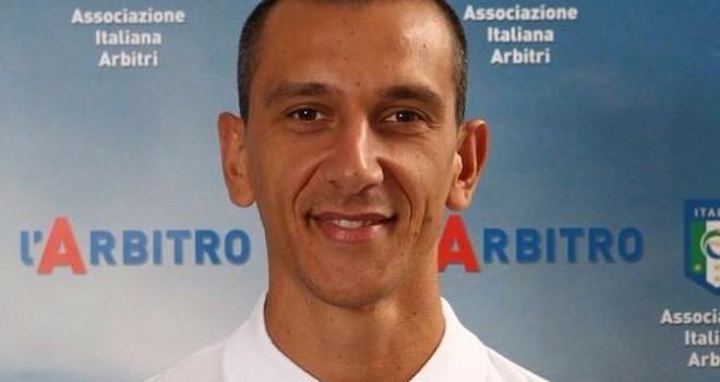 Fabio Pasciuta dirigerà la gara tra la Reggiana e la Feralpisalò
