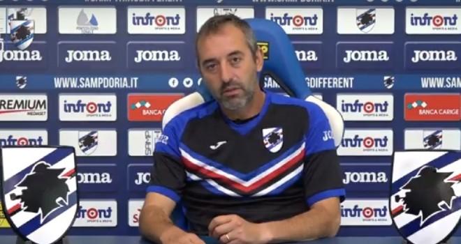 """Sampdoria. Giampaolo: """"Contro il Benevento non sarà gara scontata"""""""