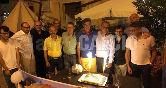 """E' nato il """"Gaetano Auteri Fans Club Matera"""": mister colto di sorpresa"""