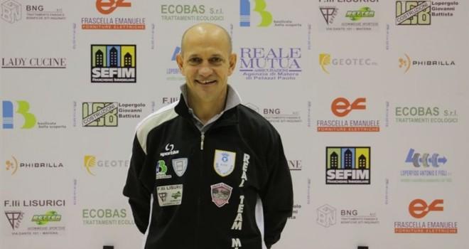 Calcio a 5, Real Team Matera: l'allenatore è Eustachio Rondinone